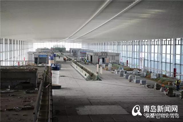 青岛胶东国际机场建设啥进展?最新进展图片!